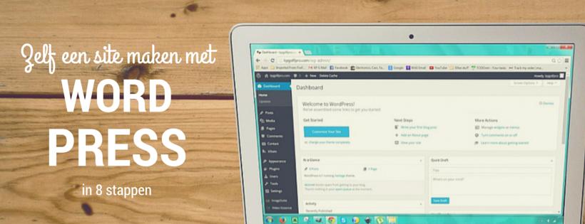 zelf een site maken met wordpress